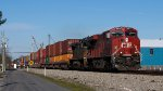 NS 228 with CP 8925 leading